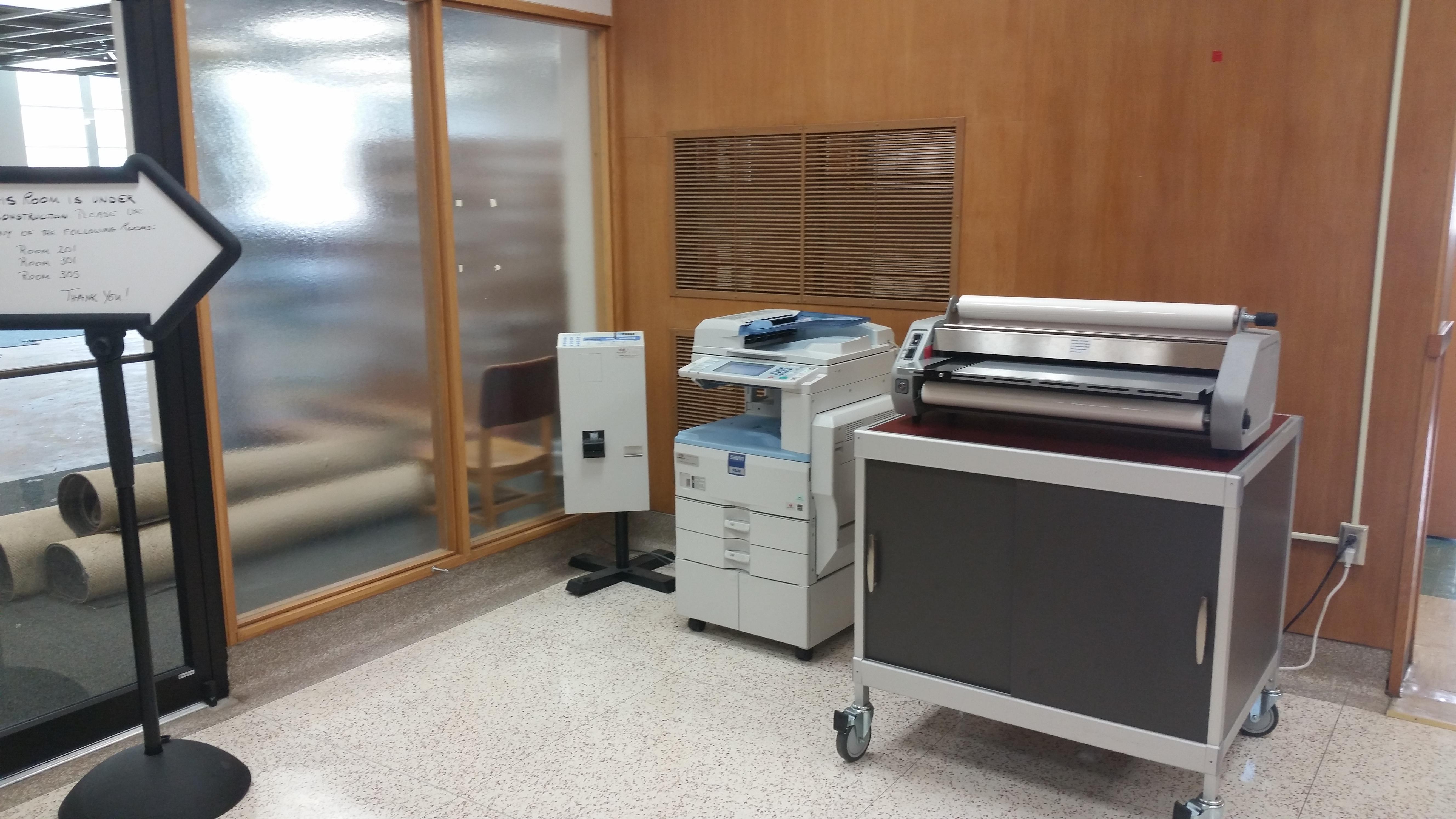 copier and laminator