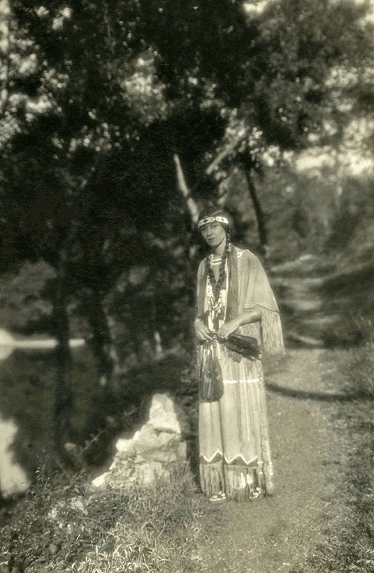 Te Ata in the 1920s