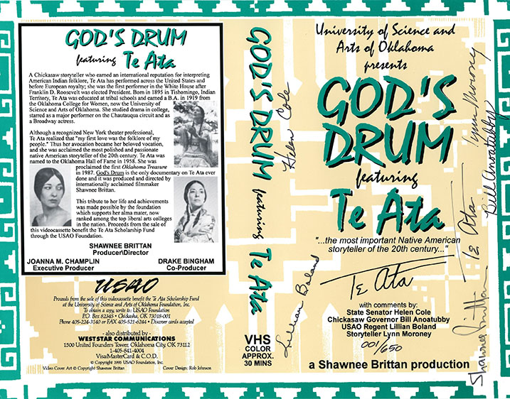 God's Drum Documentary video jacket